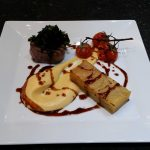 Fillet Steak with Pommes Anna and Cauli Cheese Puree
